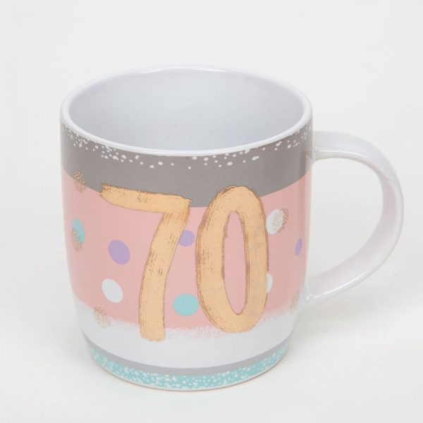 Bellini 70th Birthday Mug