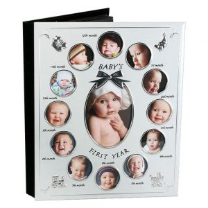 Celebrations Baby's 1st Year Photo Album