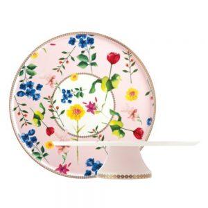 Teas & Cs Contessa Porcelain Cake Stand Rose 30cm
