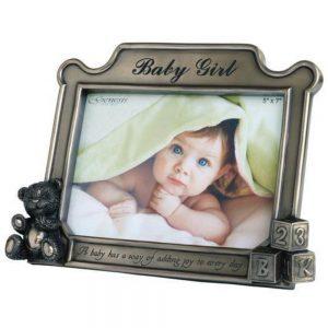 Genesis Baby Girl Photo Frame