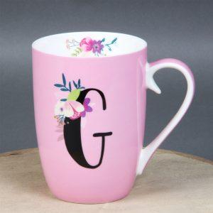 Vintage Boutique Ceramic Mug - G