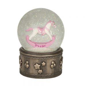 Genesis Rocking Horse Globe Its A Girl