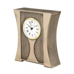 Berkleigh mantel clock which matches the Berkleigh photo frames, perfect for a mantle piece setting.