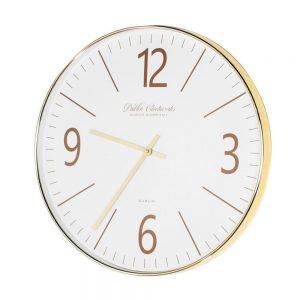 Clockworks Modern Gold Clock