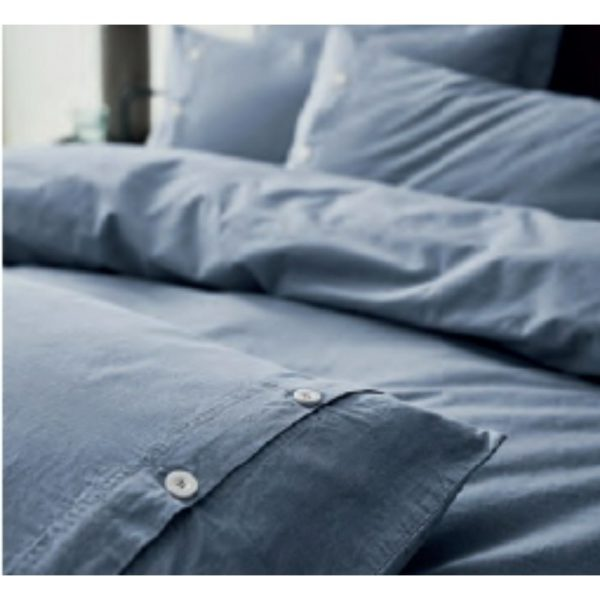 Terence Conran Blue Cotton Duvet Set