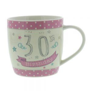 Love Life Ceramic Mug - 30th
