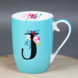 Vintage Boutique Ceramic Mug J