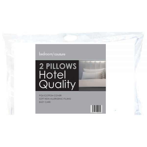 Pack of 2 Hotel Quality Pillows