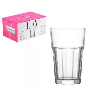 Lav Liberty Water Glasses 295ml Set of 6