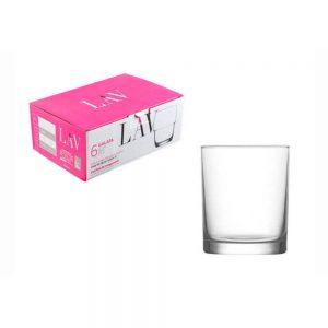 Lav Liberty Whiskey Glass 280ml Set of 6