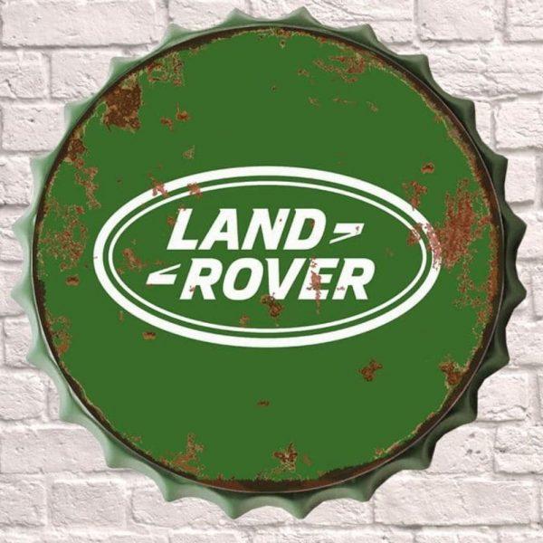 Land Rover Huge 30cm Bottle Top