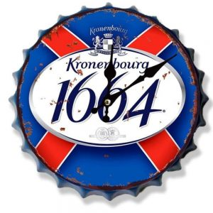 Kronenburgh 30cm Clock Bottle