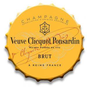 Champagne Huge 30cm Bottle Top