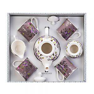 Newgrange Living 7pc Thistle Tea Set