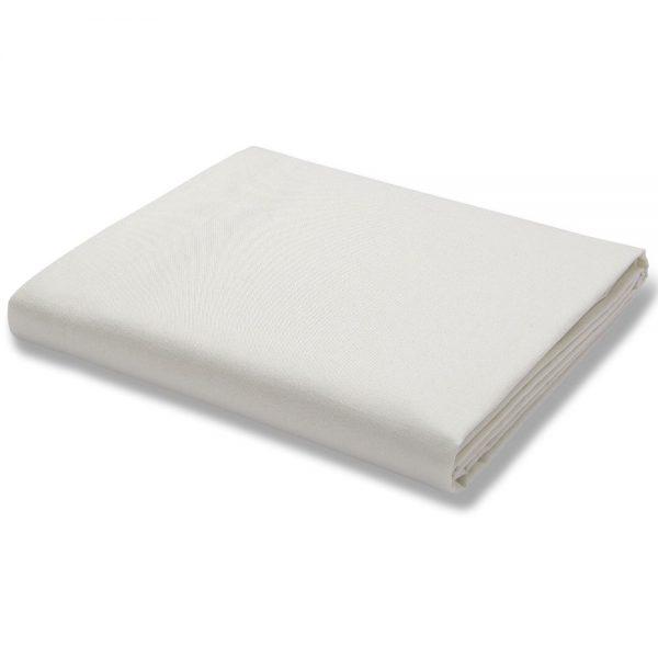 500TC Cotton Rich Flat Sheet Cream