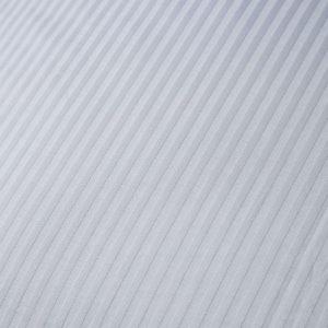 Bianca Cotton Stripe Silver Duvet Set