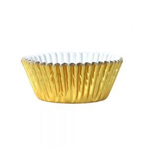 PME Metalic Gold Cupcake Case Pack of 30