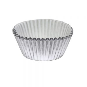 BC812 PME Metalic Silver Cupcake Case Pack of 30