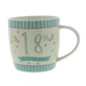Love Life Ceramic Mug 18th Birthday