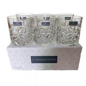 Kilkenny Living Set of 6 Whiskey Tumblers
