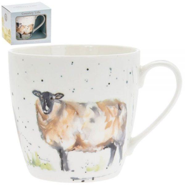 Country Life Sheep Mug