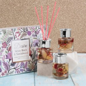 Birch and Sandlewood Set of 3 Diffusers 50ml each
