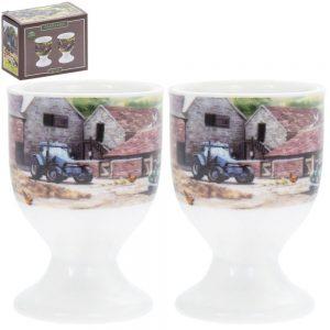 Farmyard Egg Cups Set of 2