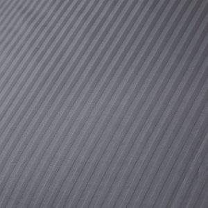 Bianca Cotton Stripe Charcoal Duvet Set