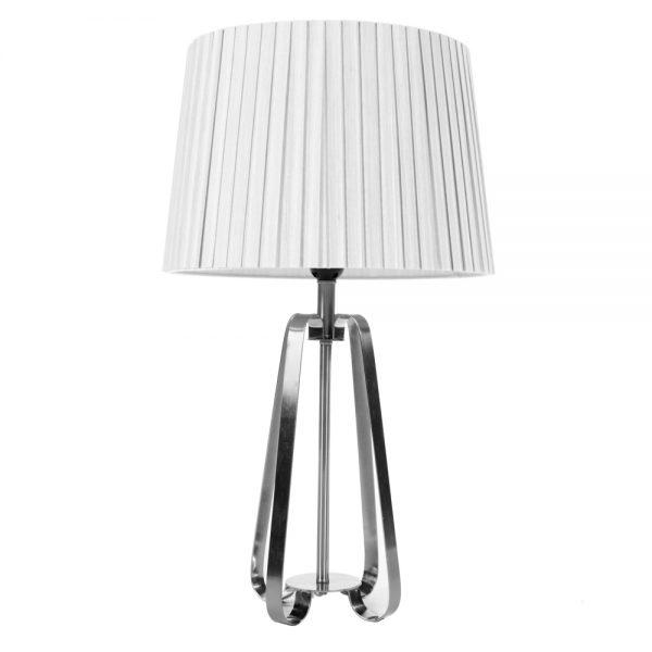 Sia Geo Lamp Silver 57cm