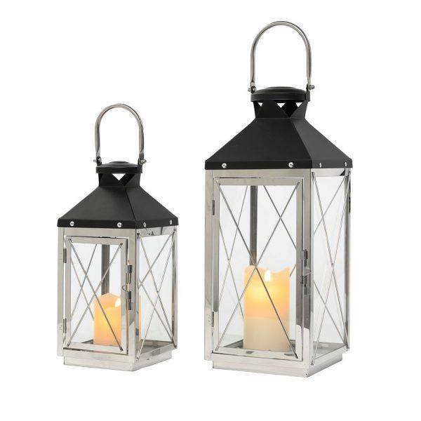 Nova lanterns chrome and grey