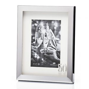 50th Birthday Silver Plated Photo Frame - 6x4