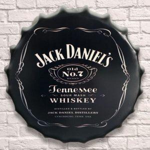 Jack Daniels Old No 7 Huge 40cm Bottle Top