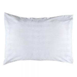 Satin Stripe Pair of Pillowcases