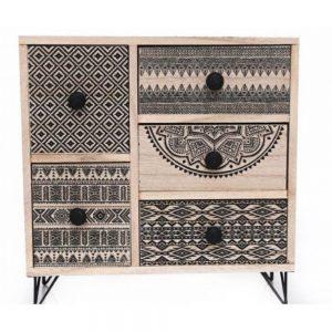 Aztec 5 Drawer Storage Unit