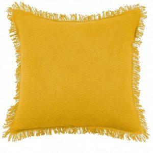 Mustard Prague Filled Cushion