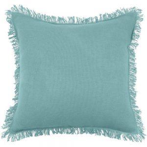 Prague Blue Filled Cushion