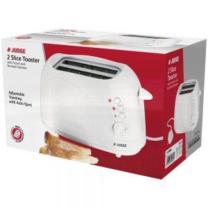 Judge Electricals 2 slice Toaster