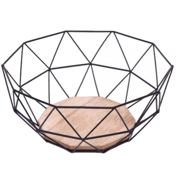 Black Wire Bowl