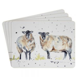 Country Life Sheep Set of 4 Placemats