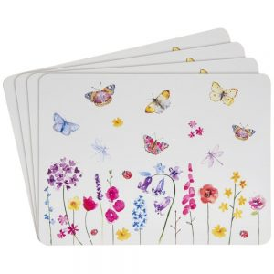Butterfly Garden Set of 4 Placemats