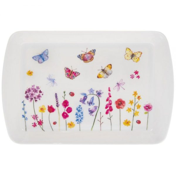 Butterfly Garden Tray Small
