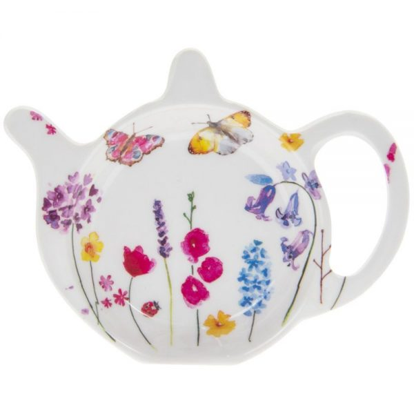 Butterfly Garden Teabag Tidy
