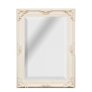 Cream Swept Mirror 63 x 93cm