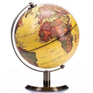 Antique Globe 20cm Diameter