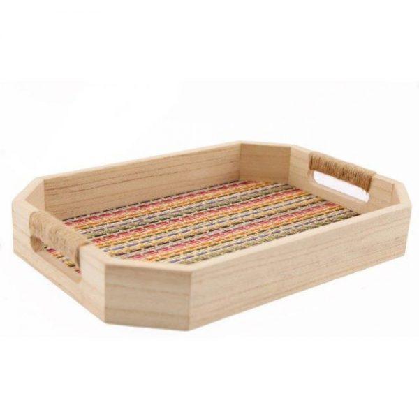 Batik Wooden Tray