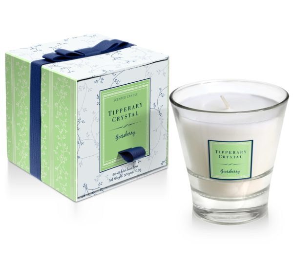 Tipperary Crystal Gooseberry Tumbler Candle