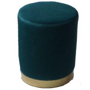 Emily Peacock Round Stool