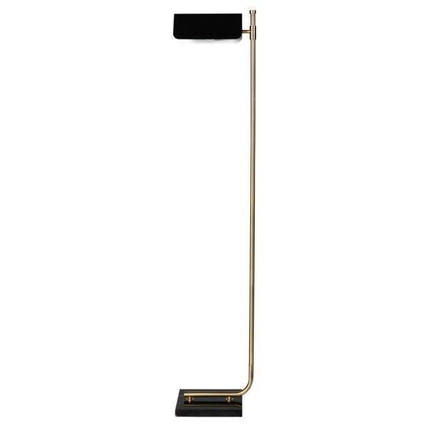 Carmen Black & Gold Floor Lamp